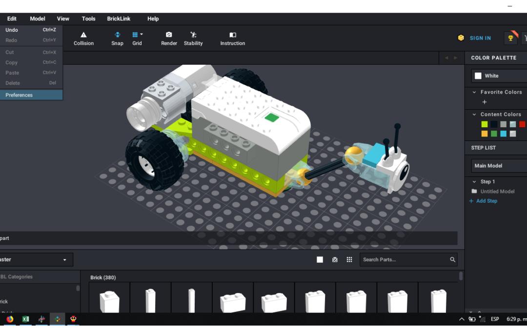 Videotutoriales para montajes de Lego Virtual con Studio 2.0 (+6 años)