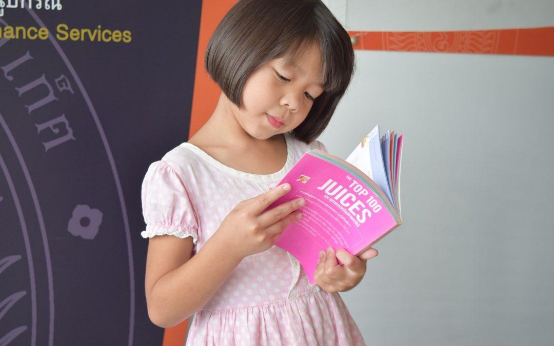 Cuento: La niña lectora por Belén Vilar